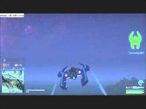 Planet Side 2: flying the scythe