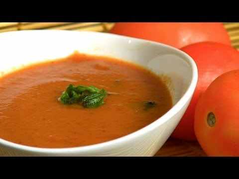 How To Cook Red Bell Pepper & Tomato Soup By Nikhil Merchant