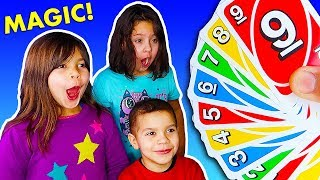 3 Magic Tricks with Cards for Kids
