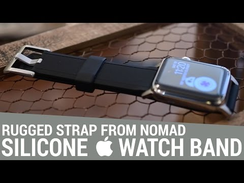 Nomad's Silicone Strap is a Rugged Take on Apple's Sports Bands for Apple Watch