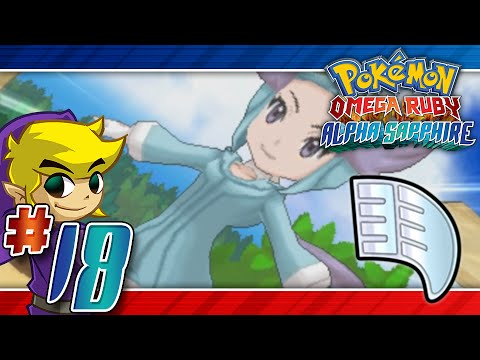 Let's Play Pokemon: Omega Ruby - Part 18 - Fortree Gym Leader Winona
