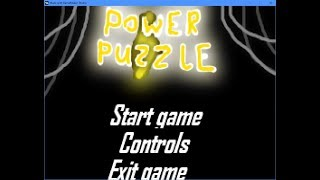 Power Puzzle - Ludum Dare 39 entry ( LOUD GAME AUDIO) Running out of power