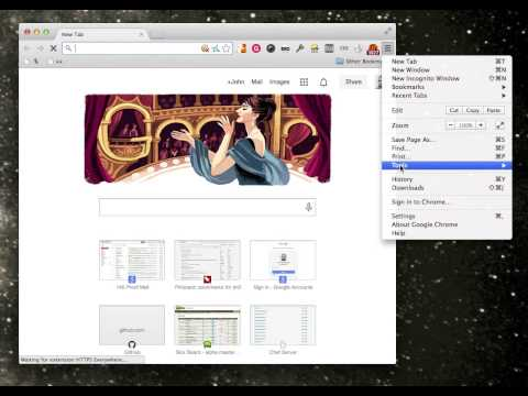 My hack for Google Chrome's New Tab page