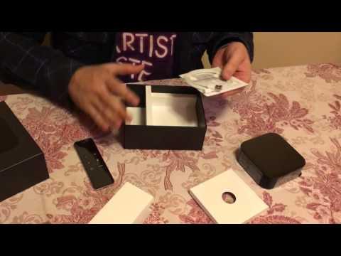 Apple TV 4th gen unboxing