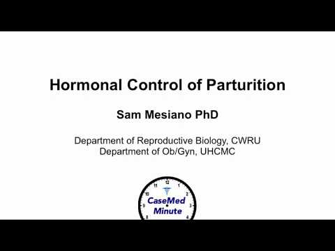 Hormonal Control of Parturition