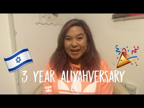 3 YEARS OF ALIYAH! | AMY and ISRAEL Vlogs