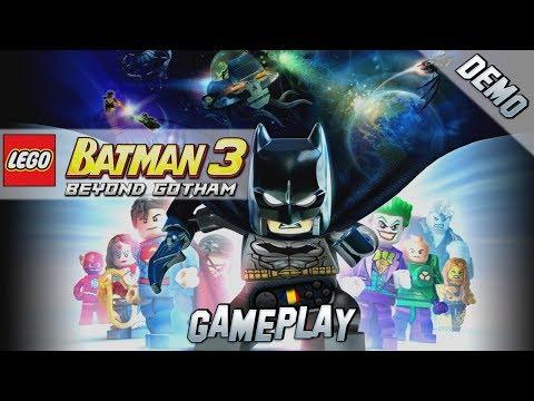 LEGO Batman 3: Beyond Gotham PC Gameplay [Demo]