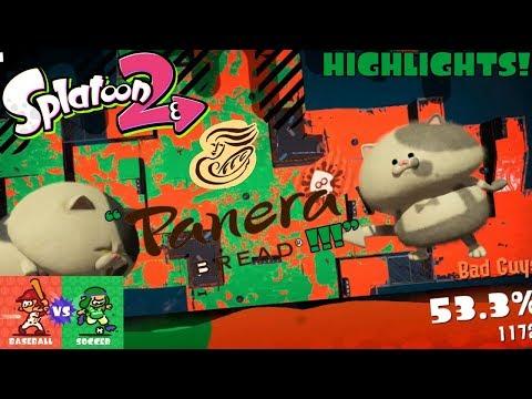 Splatoon 2 Splatfest #9 HIGHLIGHTS! (Baseball VS Soccer)
