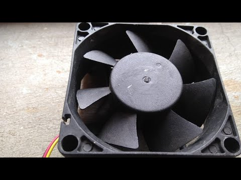 How to make a air cooler at home