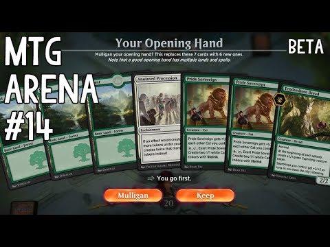 Let's Play MTG Arena #14 GW Token feat. Karn [Deutsch]