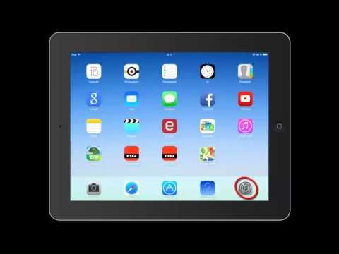 IPad 2 - ændring af Apple-Id i App Store