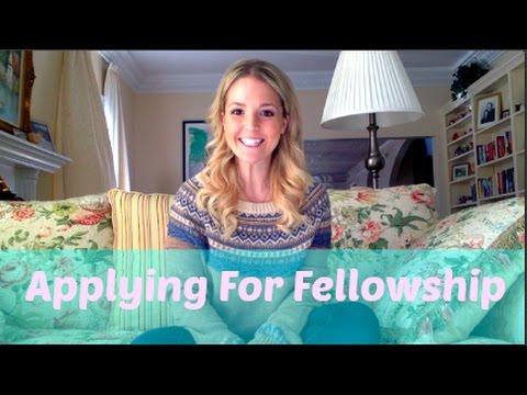 Applying for fellowship