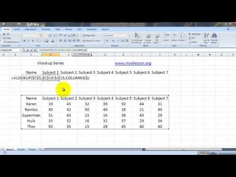 Vlookup Multiple Results For Single Query in Excel  Hindi