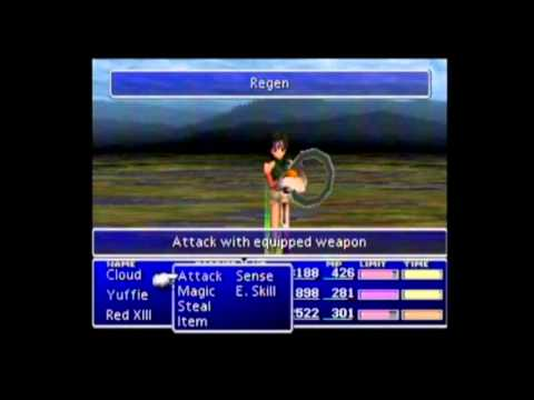Final Fantasy VII Playthrough #085 Supplement A, 3rd Enemy Skill Materia (1/3)
