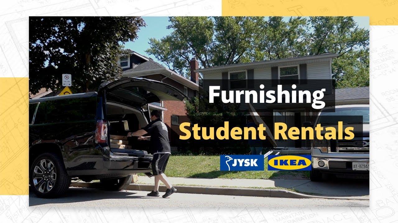 Furnishing Student Rentals