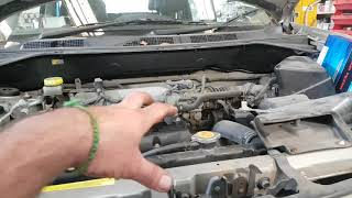 Replacing Belt Tensioner Pulley Nissan X-Trail / Teana Fix pulley