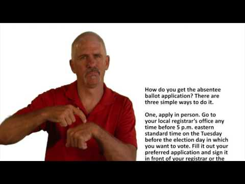 Virginia Absentee Ballot Registration ASL Version