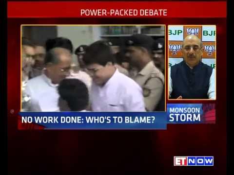 Is Monsoon Session Of Parliament Heading Nowhere? | Nalin Kohli, Sanjay Jha & Prabhu Chawla Discuss