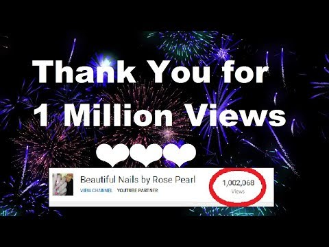 Yay We hit 1 MILLION Views on this Channel ❤ THANK YOU FOR EVERYTHING ❤ | Rose Pearl