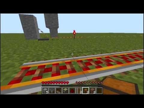 Storage Minecart Unloading Station in Minecraft 1.5.2
