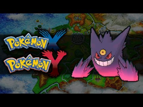 Pokemon X and Y | How To Get Mega Gengar
