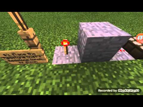 MCPE 0.13.1|How to make an automatic Redstone Lamp