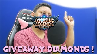 GIVEAWAY DIAMOND MOBILE LEGENDS ! #11