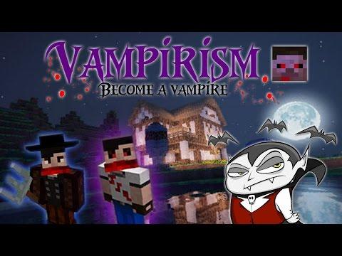 BECOME A VAMPIRE / VAMPIRE HUNTER! [1.10.2] |  Minecraft Mod Showcase & Guide!