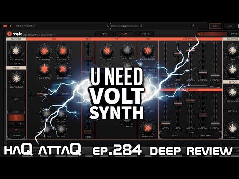U need VOLT Synth │ Deep Review and Dev Interview - haQ attaQ 284