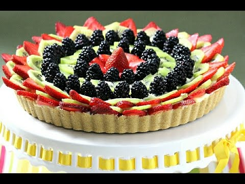 How to Make an Easy, No-Bake Fruit Tart  - Rossella's Cooking with Nonna