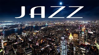 Elegant Night JAZZ Playlist - Delicate Piano JAZZ &  Lights of Night City - Night Traffic JAZZ