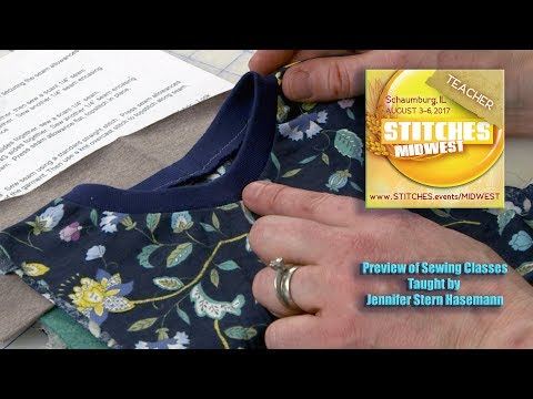 Preview of J Stern Designs Sewing Classes at Stitches MidWest