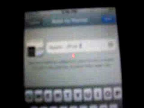 How to add or delete apps/icon off your ipod touch