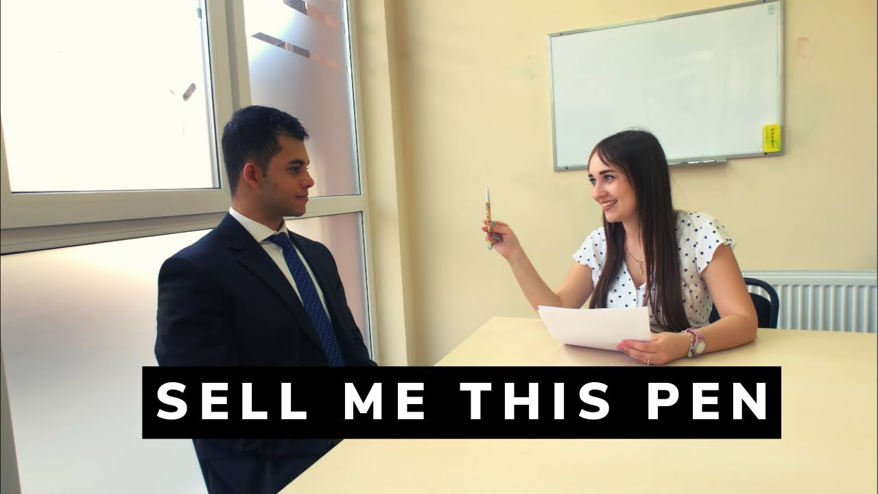 """""""Sell Me This Pen"""" - Best 2 Answers (Part 1)"""
