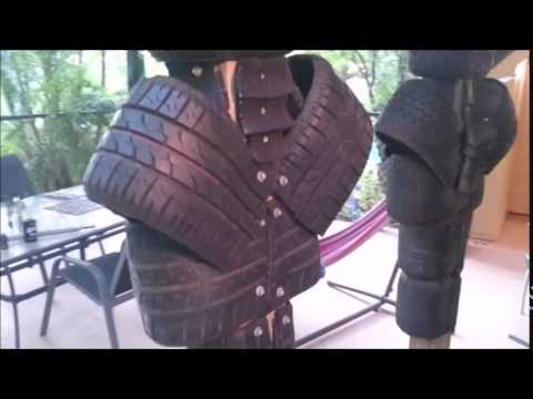 How to make an Eskrima Dummy 3: how to fix the mistake on vid 1