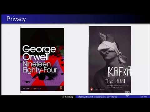Research Talks: Battling Internet censorship and surveillance