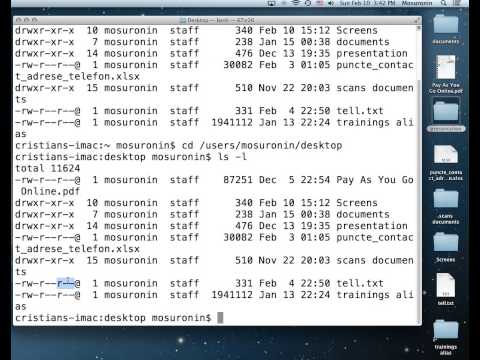 MAC OS X File System Permissions II