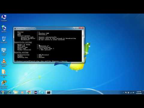 How to find wifi password using Command PromptHow to find wifi password using Command Prompt HDWon C