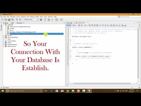 How To Connect MySQL with Java using Xampp and Netbeans