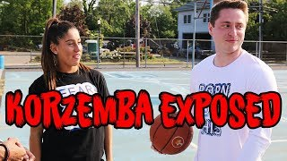 Mike Korzemba EXPOSED By Girl NCAA STAR in 1V1 Basketball