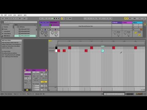 Ableton Live 9 | Tutorial #1 Hip Hop Beat | Sampling