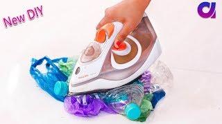 Old Plastic bag and Plastic Bottles reuse ideas | Best out of waste | Artkala 357