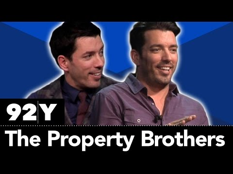 "HGTV's ""Property Brothers"" Jonathan and Drew Scott with Willie Geist"