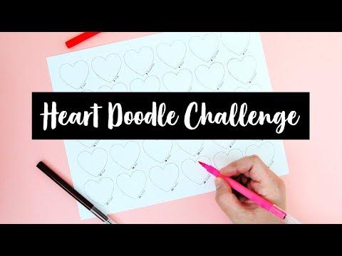 Heart Doodle Challenge | Sea Lemon