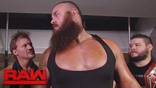 Jeri-KO confront Braun Strowman: Raw, Nov. 7, 2016