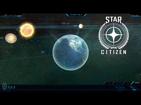 Star Citizen - Exploring the Galactic Map - Ark Map Released