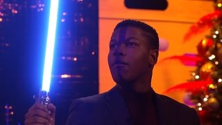 The Graham Norton Show HD - John Boyega and his lightsaber skills!
