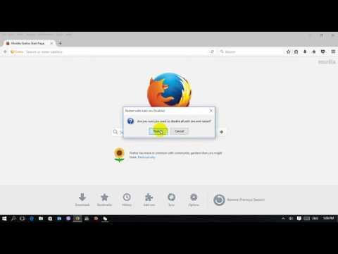 How to restart Mozilla Firefox