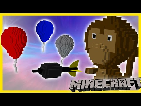 Bloons Tower Defense in Minecraft (Vanilla 1.9)