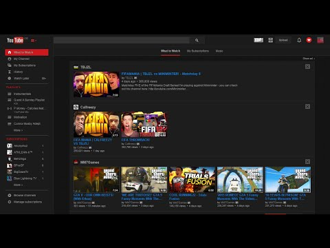 How To: Change YouTube Background Black
